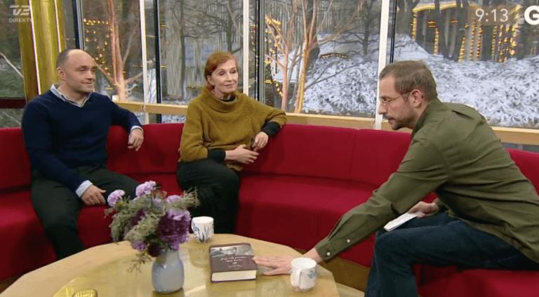 Peter og Bodil Jørgensen i Go' Morgen Danmark